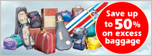Save up to 50% on excess baggage. We offer cheaper than Airline excess baggage rates to over 6,500 destinations in 240 countries