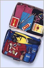 Think before you pack. Help keep air travel safe by observing rules.